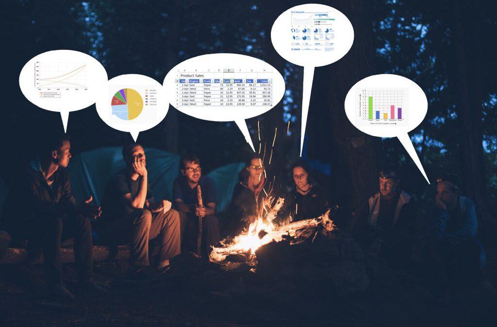 Presentaciones. Narrativa. Data Storytelling. Conferencias. Hablar en público.